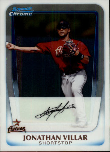 Photo of 2011 Bowman Chrome Prospects #BCP110 Jonathan Villar Pre-Rookie Card