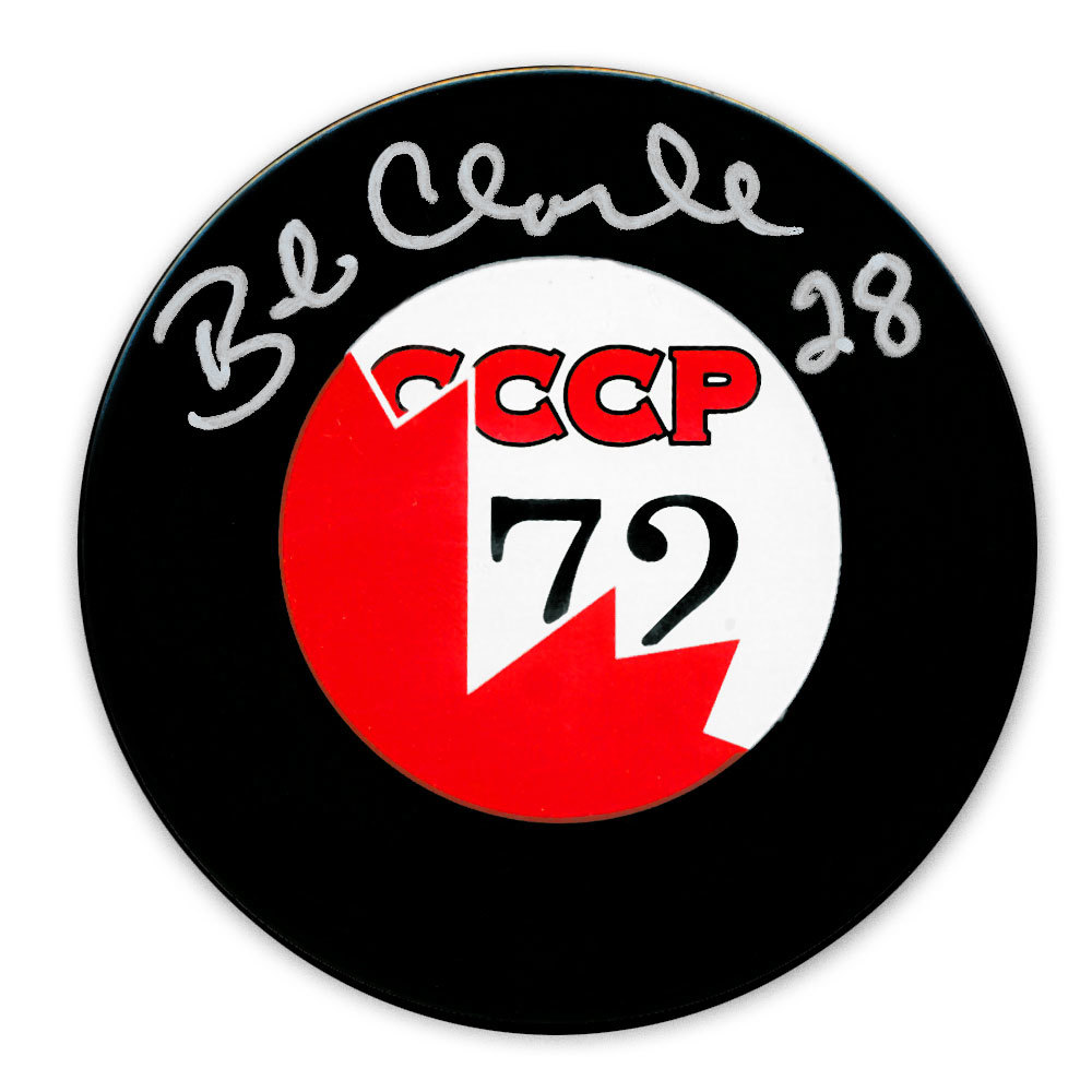 Bobby Clarke Team Canada 1972 Summit Series Autographed Puck