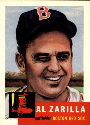Photo of 1991 Topps Archives 1953 #181 Al Zarilla