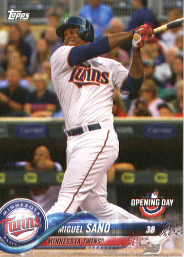 Photo of 2018 Topps Opening Day #66 Miguel Sano