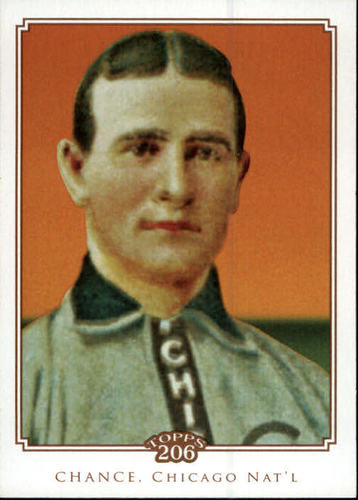 Photo of 2010 Topps 206 #233 Frank Chance Hall of Fame Class of 1946