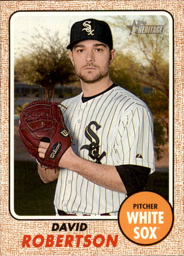Photo of 2017 Topps Heritage #350 David Robertson