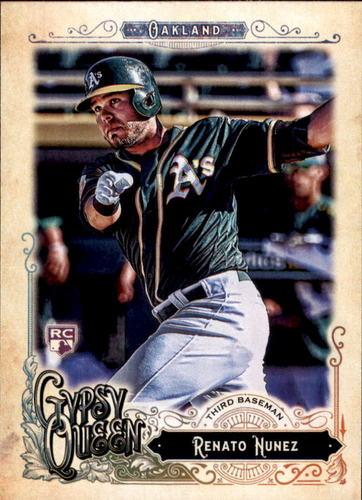Photo of 2017 Topps Gypsy Queen #163 Renato Nunez RC