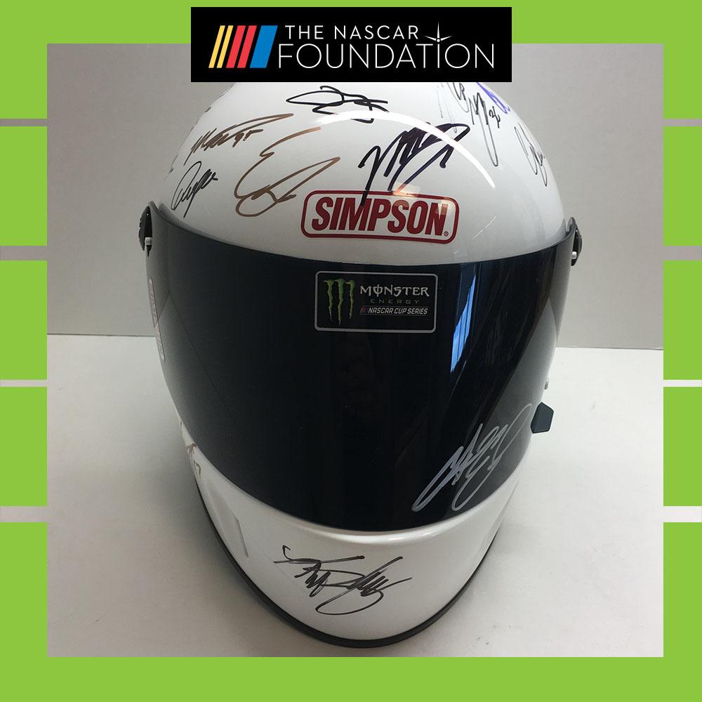 2019 Daytona MENCS Autographed helmet!