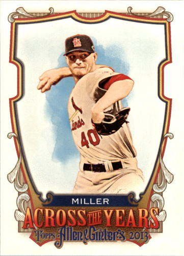 Photo of 2013 Topps Allen and Ginter Across the Years #SM Shelby Miller