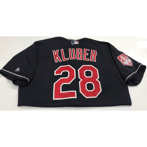 Corey Kluber Team Issued 2019 Spring Training Jersey
