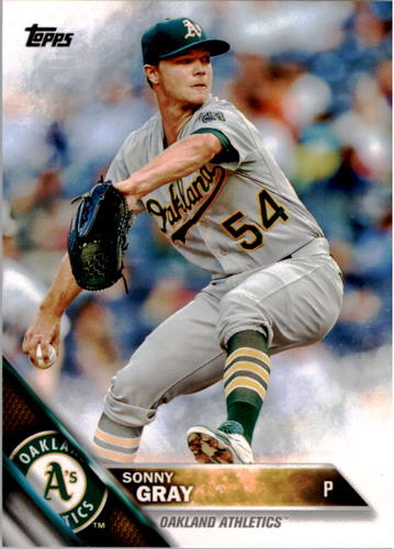 Photo of 2016 Topps #4A Sonny Gray