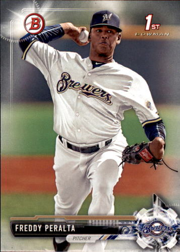 Photo of 2017 Bowman Prospects #BP22 Freddy Peralta