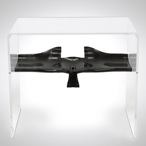 Photo of Lewis Hamilton 2013 Lower Rear Wing Main Plane Table - Mercedes-AMG Petronas ...