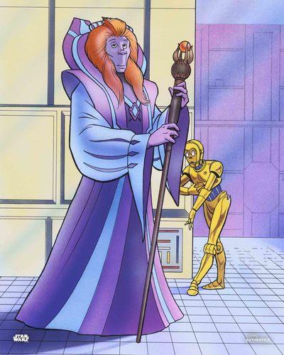 C-3PO and Zatec-Cha
