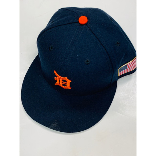 Photo of Game-Used Road Cap: Daniel Norris
