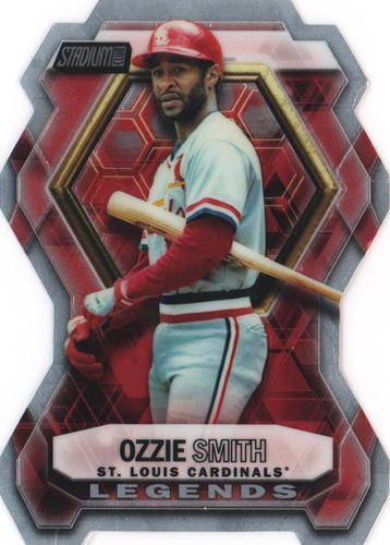 Photo of 2016 Stadium Club Legends Die Cut #LDC9 Ozzie Smith
