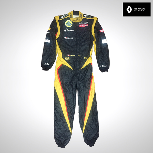 Photo of Harold Primat 2012 Test Used Race Suit - Lotus F1 Team