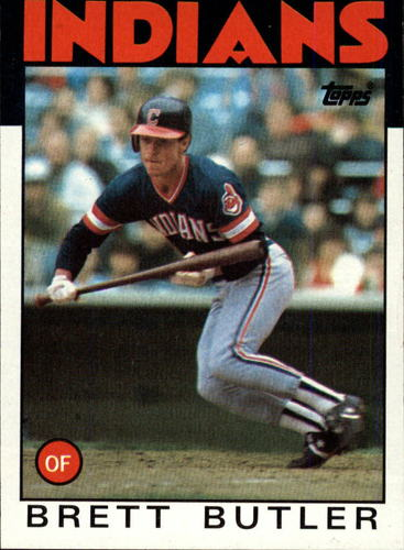 Photo of 1986 Topps #149 Brett Butler