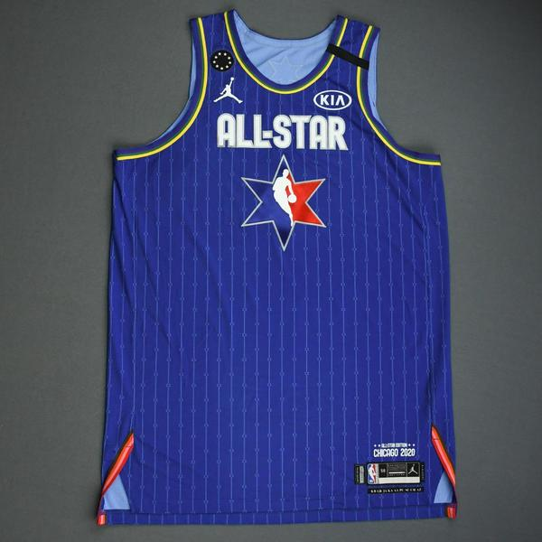 Image of Nikola Jokic - 2020 NBA All-Star - Game-Worn Jersey Charity Auction - Team LeBron - 1st and 2nd Quarter