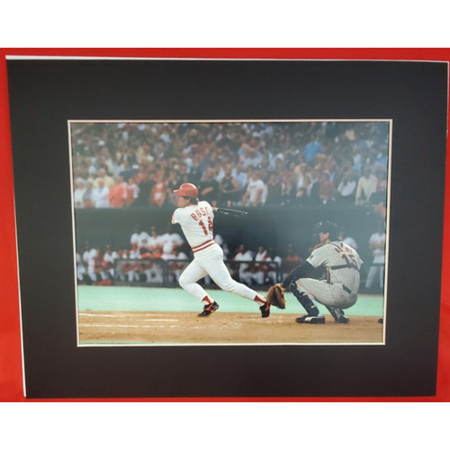 Photo of Matted Pete Rose 4192 - 11x14