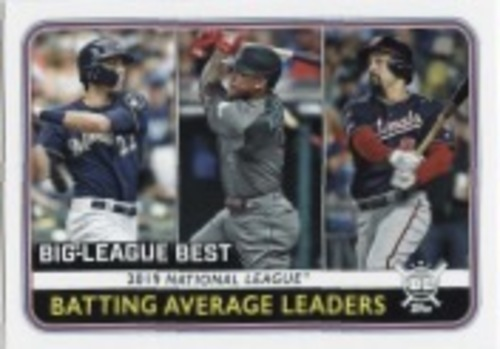 Photo of 2020 Topps Big League #250 Ketel Marte/Anthony Rendon/Christian Yelich LL