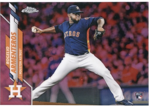 Photo of 2020 Topps Chrome Pink Refractors #4 Rogelio Armenteros