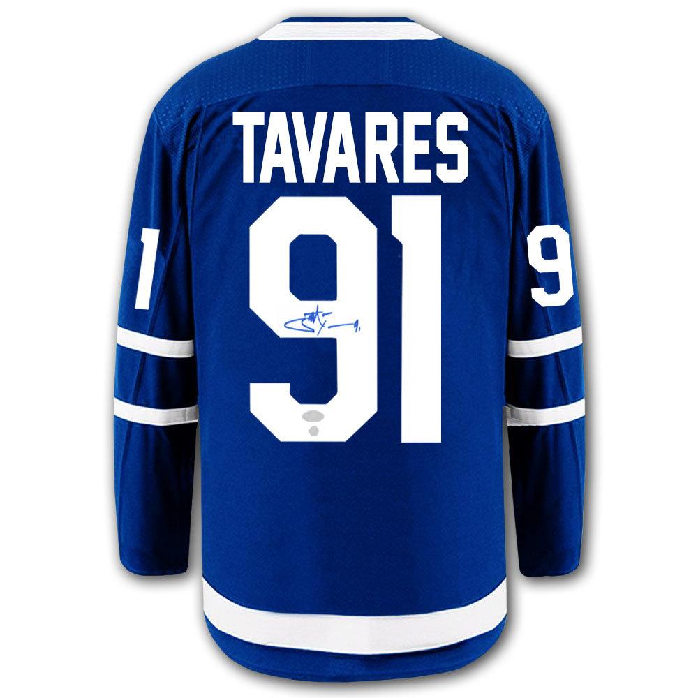 John Tavares Toronto Maple Leafs Fanatics Breakaway Autographed Jersey