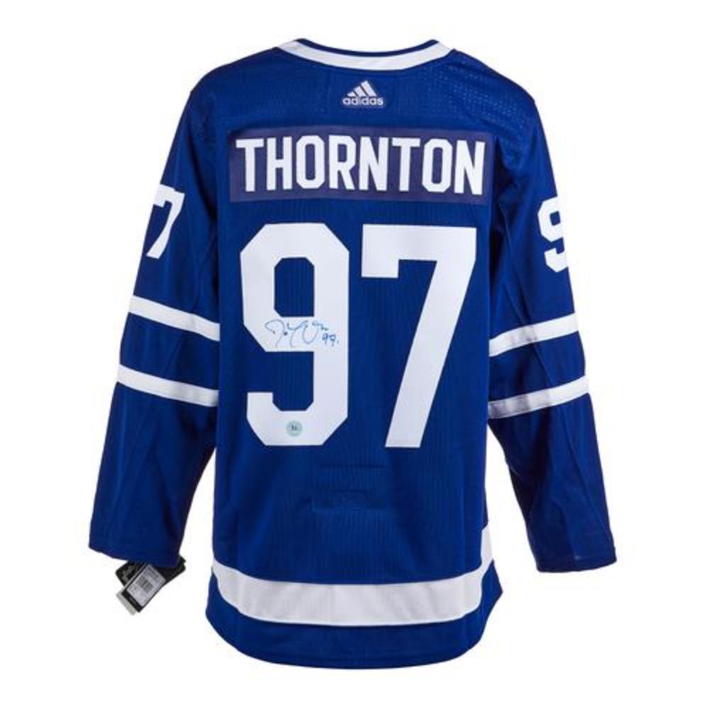 Joe Thornton Toronto Maple Leafs Autographed Adidas Jersey
