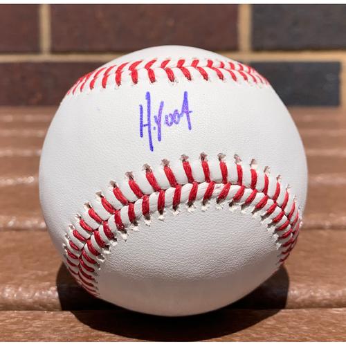 Photo of Huascar Ynoa Autographed Baseball - NOT MLB Authenticated, COA Included