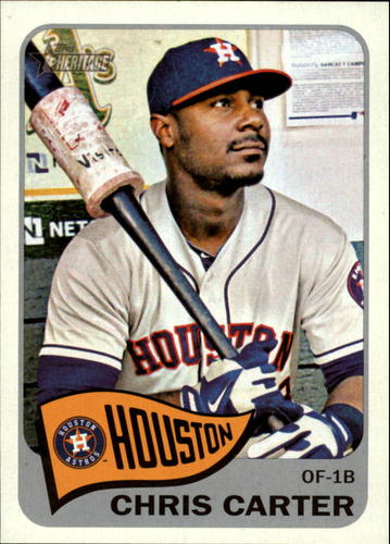 Photo of 2014 Topps Heritage #39 Chris Carter