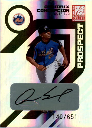 Photo of 2005 Donruss Elite #174 A.Concepcion AU/651 RC
