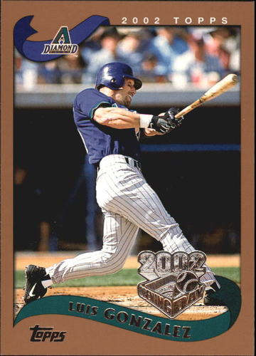 Photo of 2002 Topps Opening Day #56 Luis Gonzalez
