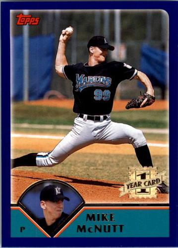 Photo of 2003 Topps #314 Mike McNutt FY RC