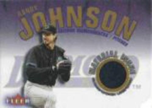 Photo of 2001 Fleer Genuine Material Issue #RJ Randy Johnson