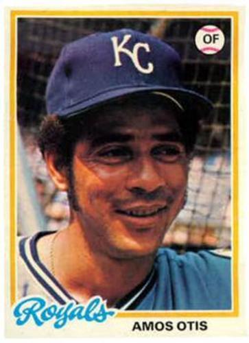 Photo of 1978 Topps #490 Amos Otis