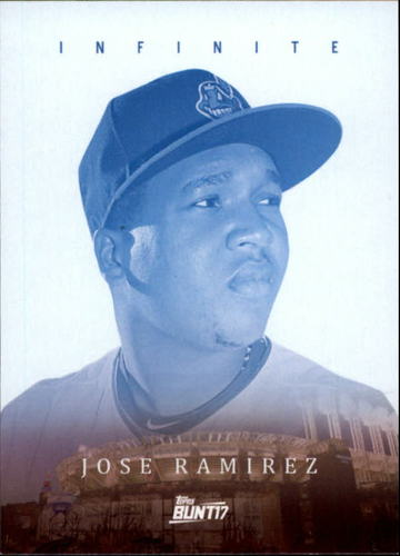 Photo of 2017 Topps Bunt Infinite #IJR Jose Ramirez