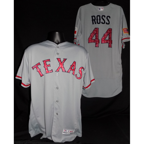 Tyson Ross 2017 Game-Used Stars and Stripes Jersey
