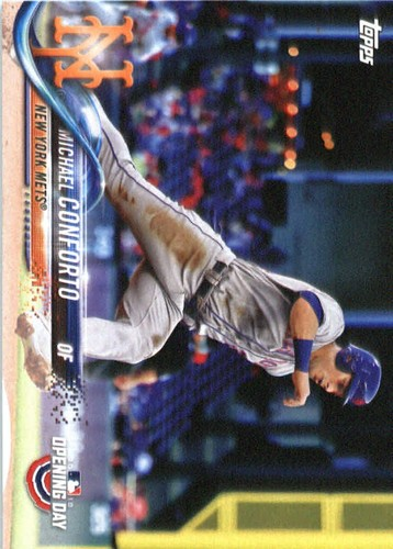 Photo of 2018 Topps Opening Day #67 Michael Conforto