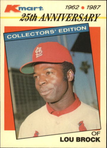 Photo of 1987 K-Mart #13 Lou Brock