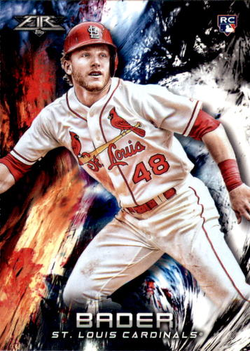 Photo of 2018 Topps Fire #163 Harrison Bader RC