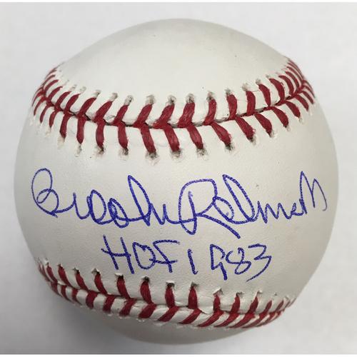 Brooks Robinson Autographed