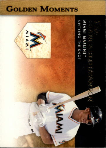 Photo of 2012 Topps Golden Moments Series 2 #GM31 Giancarlo Stanton