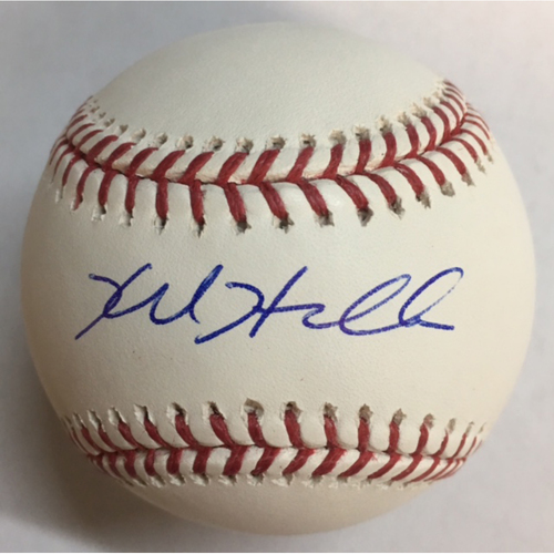 Photo of Kyle Hendricks Autographed Baseball