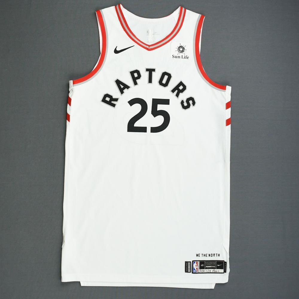 the best attitude eaa81 297b5 Chris Boucher - Toronto Raptors - Game-Worn Association ...