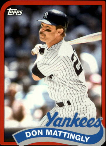 Photo of 2014 Topps '89 Topps Die Cut Minis #TM13 Don Mattingly