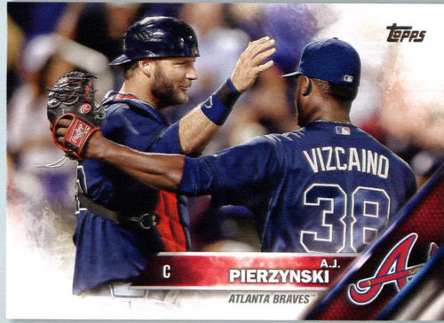 Photo of 2016 Topps #635 A.J. Pierzynski