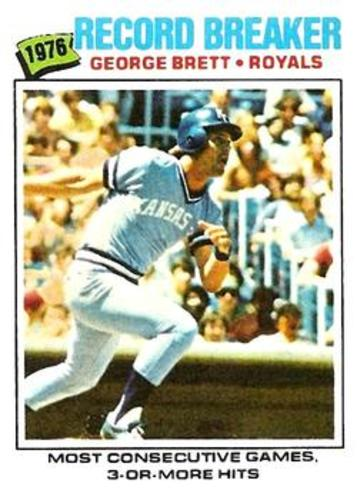 Photo of 1977 Topps #231 George Brett RB