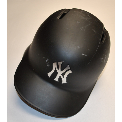 "Photo of James ""BIG MAPLE"" Paxton New York Yankees Game-Used 2019 Players' Weekend Helmet"