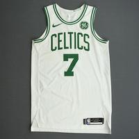 Jaylen Brown - Boston Celtics - Kia NBA Tip-Off 2019 - Game-Worn Association Edition Jersey