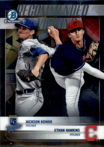 Photo of 2018 Bowman Chrome Draft Recommended Viewing #RVKH Ethan Hankins/Jackson Kowar
