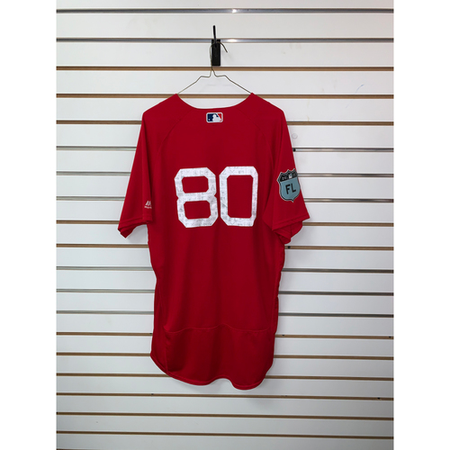 Photo of #80 Team Issued 2017 Spring Training Jersey