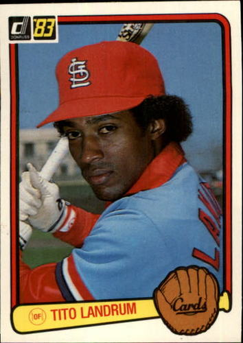 Photo of 1983 Donruss #498 Tito Landrum