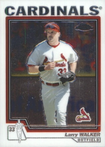 Photo of 2004 Topps Chrome Traded #T31 Larry Walker Cards