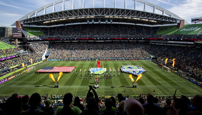 SEATTLE SOUNDERS FC GAME EXPERIENCE